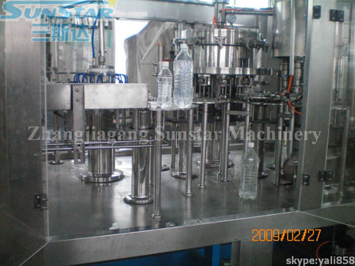 Carboanted Drink Filling Machine Monoblock DCGF16-12-6