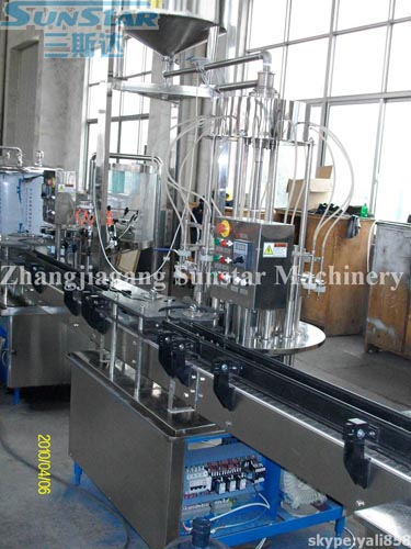 Washing Filling Capping Machine In-line