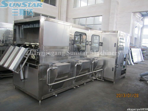 5 Gallon Bucketed Water Filling Line(QGF450)