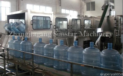 600bph Barrel Water Production Line