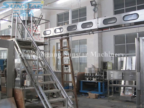 Automatic Continuation Cap Washer Sterilizer