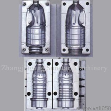 Water bottle blow mould and oil bottle mould